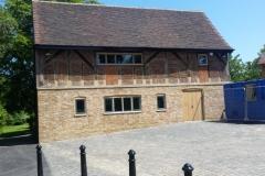 Eastcote Village heritage work in lime motar