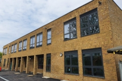Orchard primary school  brickwork completed feb 2020